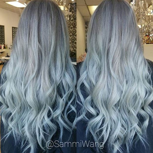 21 Stunning Grey Hair Color Ideas and Styles – Page 8 – Foliver blog