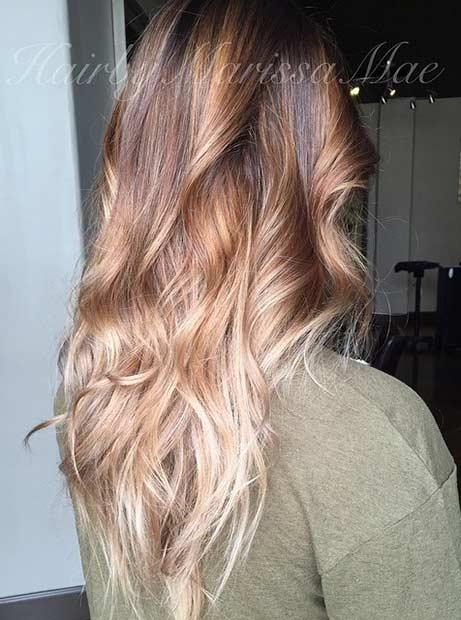 8 Dark and Light Blonde Beige Hair