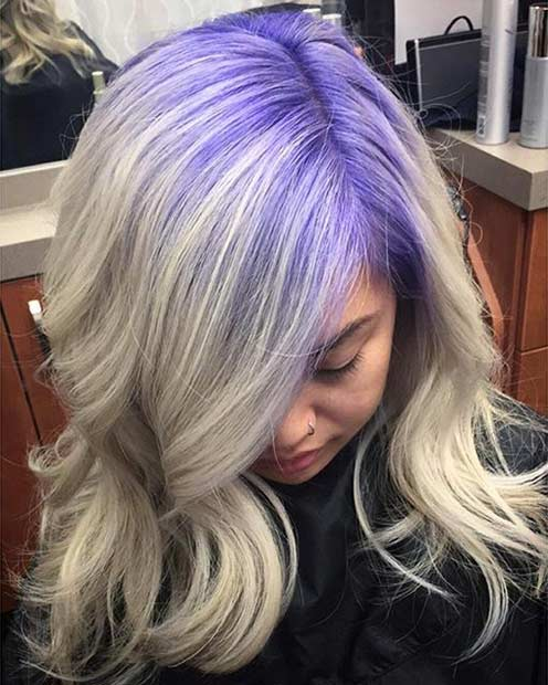 21 Looks That Will Make You Crazy For Purple Hair Page