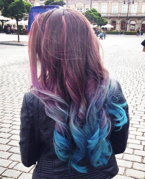 9-brown-to-teal-long-ombre-hair