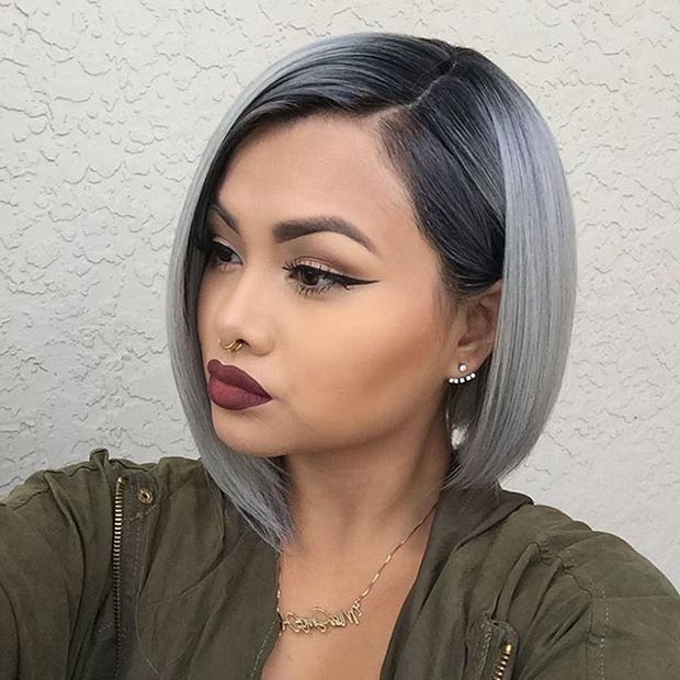 21 Stunning Grey Hair Color Ideas and Styles – Page 10 – Foliver blog