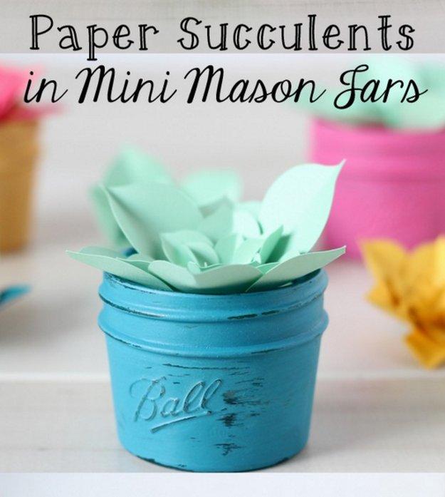 30 Awesome Diy Crafts With Mini Mason Jars Page 8 Foliver Blog