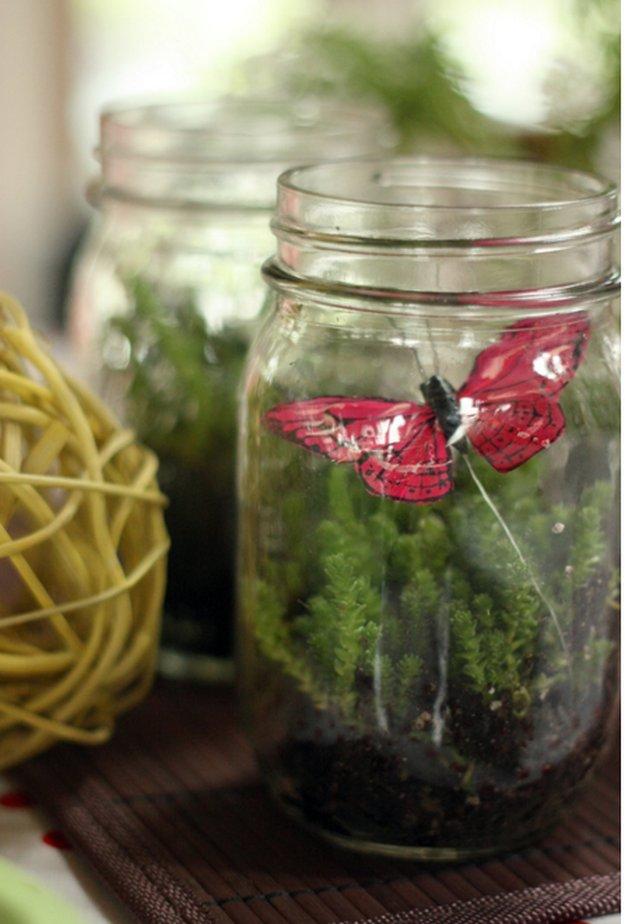 Mini Mason Jar Terrarium 23 DIY Crafts With Mini Mason Jars