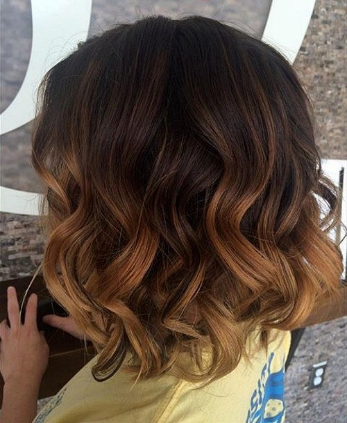 1 medium beachy waves with ombre highlights