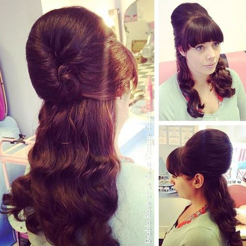 12-half-up-beehive-for-wavy-hair
