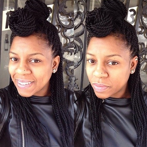 12-two-buns-half-updo-for-Senegalese-twists