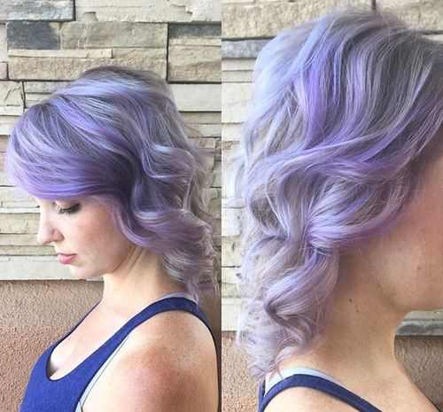 15-wavy-pastel-purple-hairstyle
