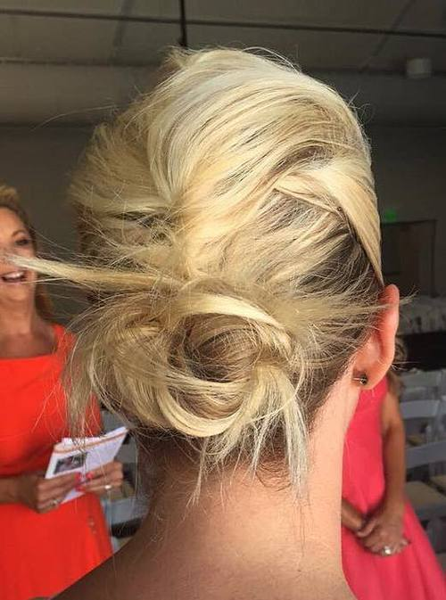 16-french-roll-into-bun-messy-updo