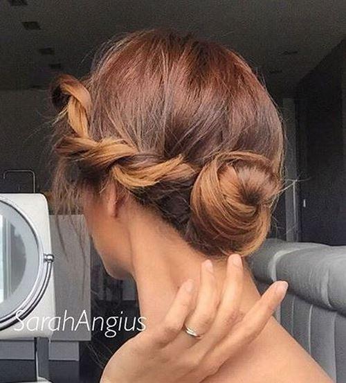 18-cute-bun-with-a-side-twist