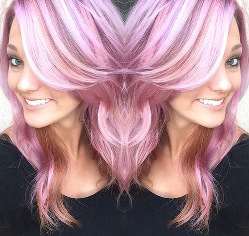 19 candy colored locks