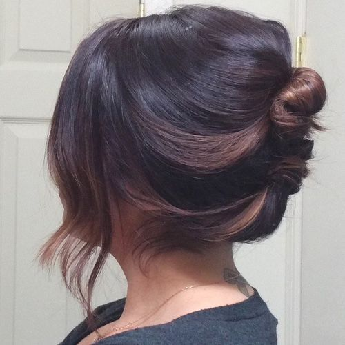 19-loose-french-roll-for-shorter-hair
