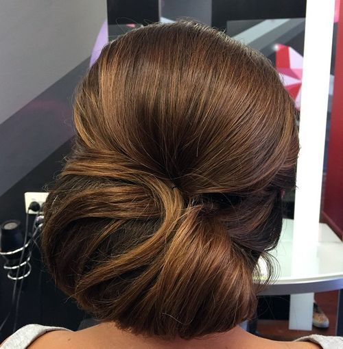 20-beautiful-chignon-for-thick-hair