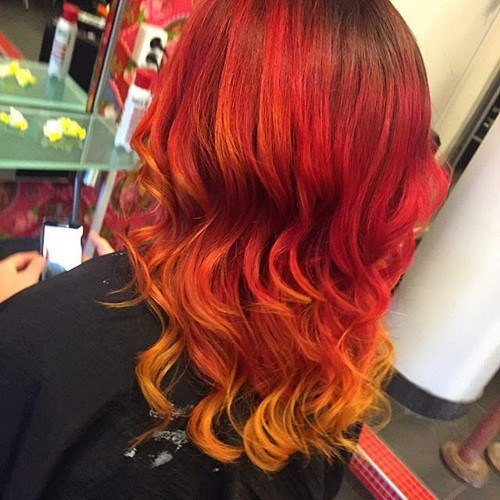 24 ombre red