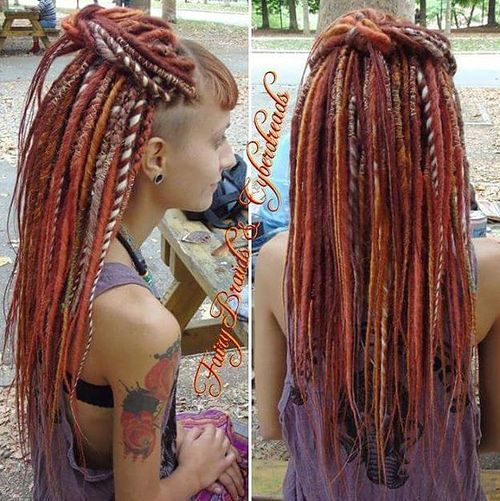 5 fun colorful dreads for girls