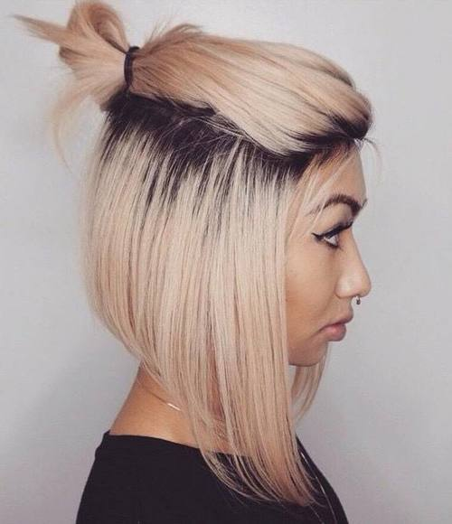 20 Quick And Easy Short Hair Buns To Try Page 5 Foliver Blog
