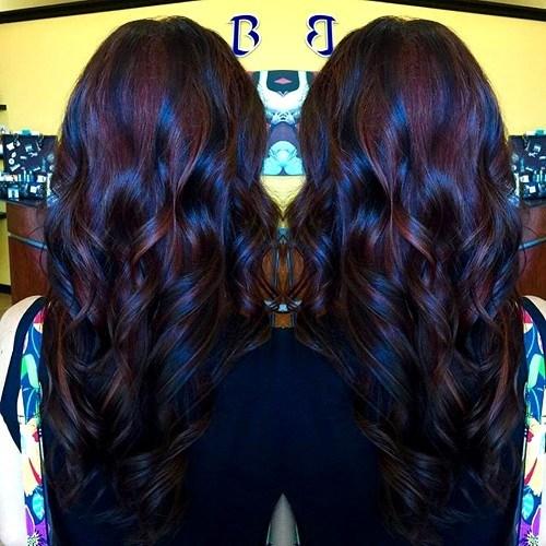 6 dark cherry highlights