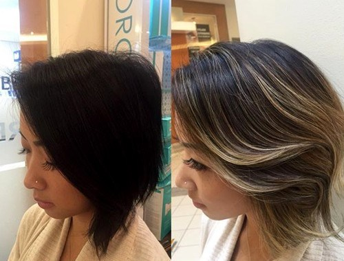 20 on trend balayage short hair looks page 7 foliver blog 7 brown blonde sweeps of color solutioingenieria Image collections