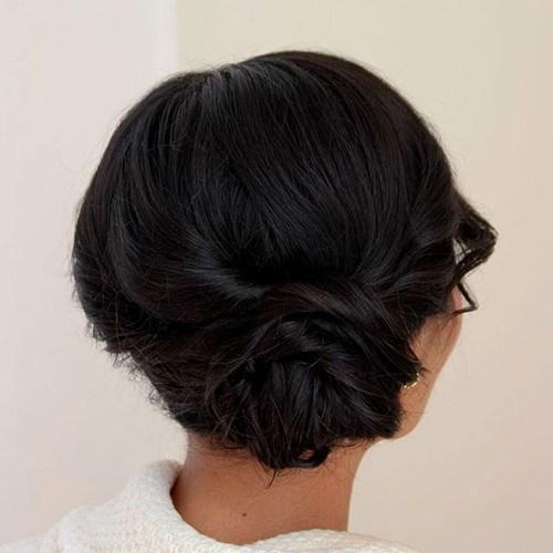 9-messy-side-low-bun-for-shorter-hair