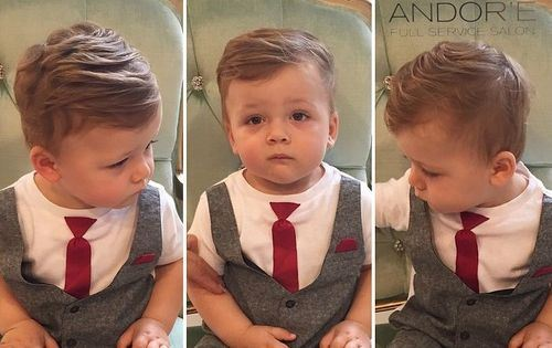 1 cool medium haircut for little boys