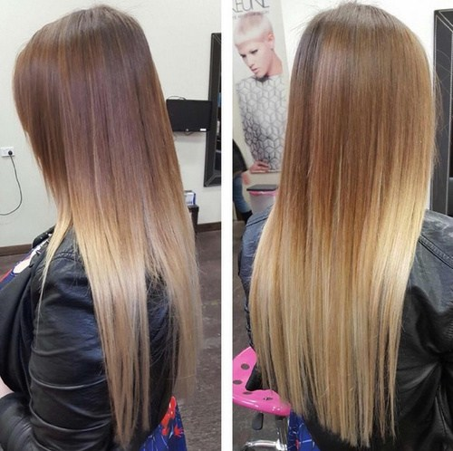 Sleek and sexy hair beauty with ombre straight hair foliver blog 1 straight beauty urmus Choice Image