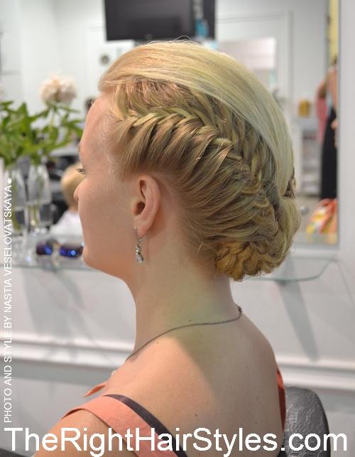 10 braided vintage updo