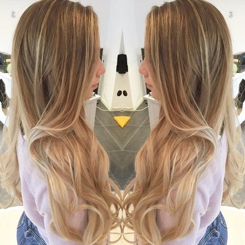 11 long blonde highlights