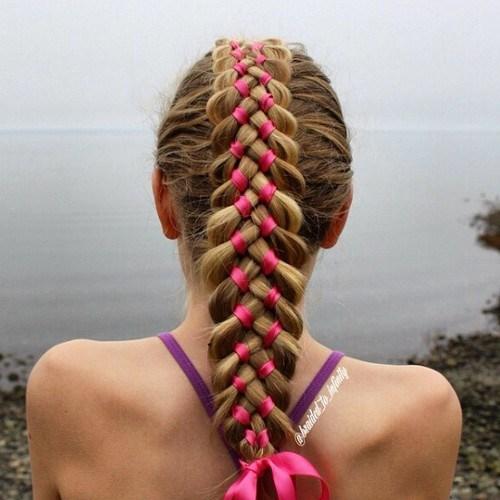 12 four strand ribbon braid