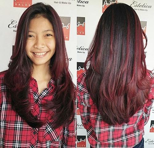 13 burgundy ombre highlights for black hair