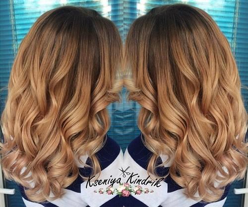 14 glamorous copper curls