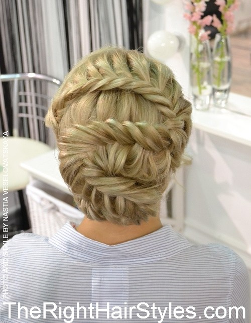15 1 lace updo