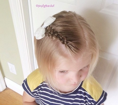 16 four strand braided fringe for medium hair