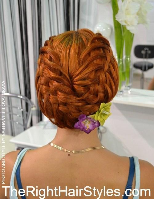 17 1 creative braided updo