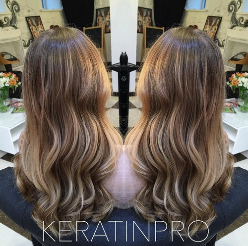 17 sunny soft ombre