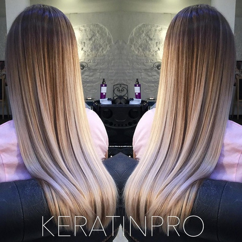 18 blunt haircut for straight hair and ombre