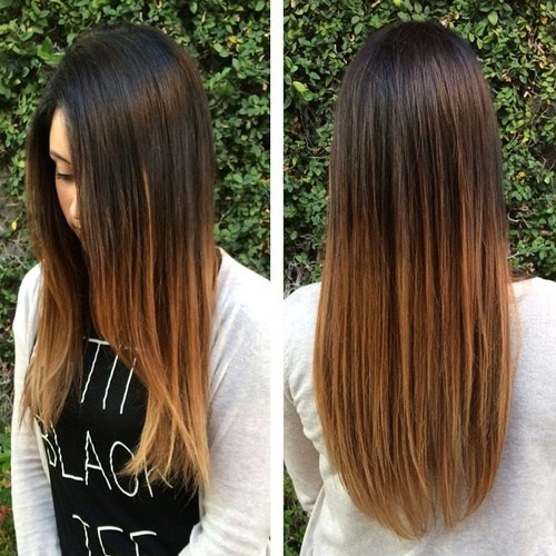 18 natural looking ombre for straight hair