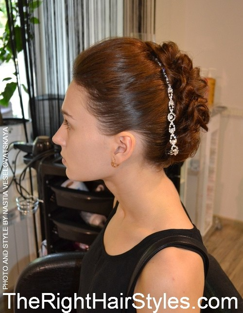 20 intricate twisted updo