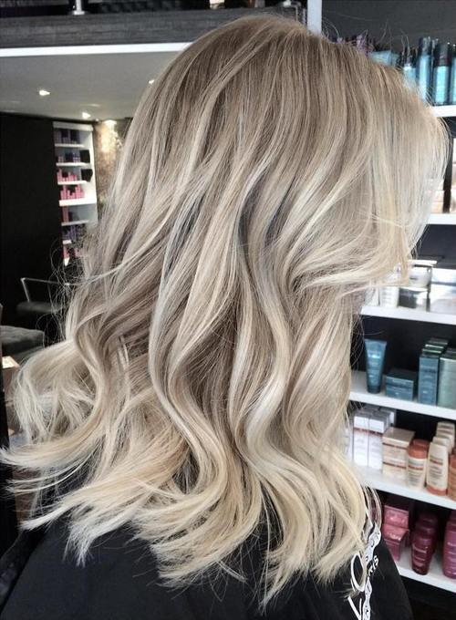 40 Beautiful Blonde Balayage Looks Page 21 Foliver Blog
