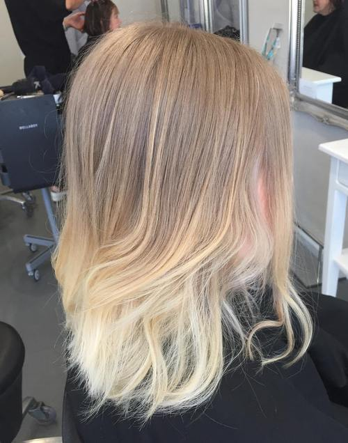 22 ombre highlights for ash blonde hair