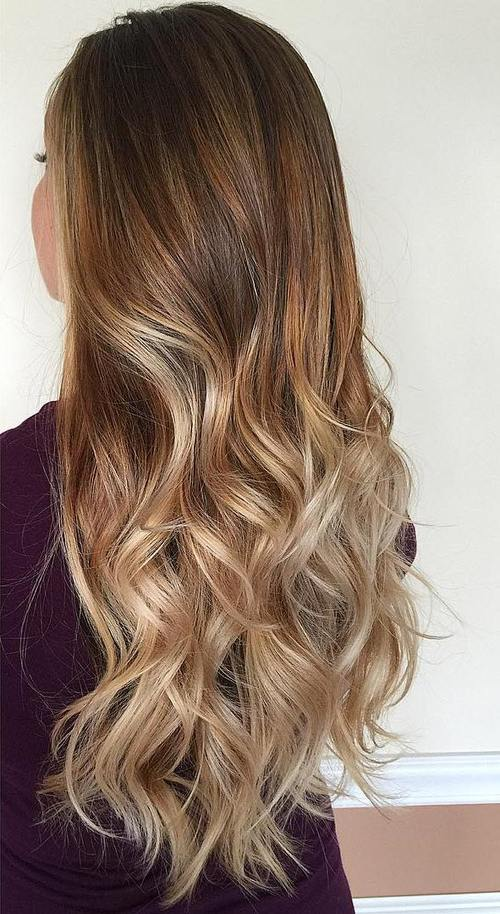 23 brown blonde ombre hair