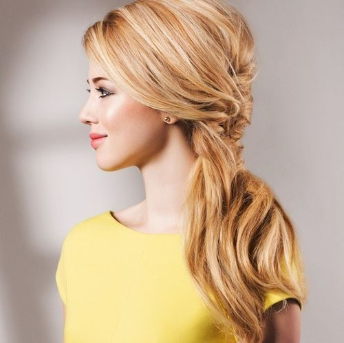 40 Super-Simple Messy Ponytail Hairstyles – Page 28 ...
