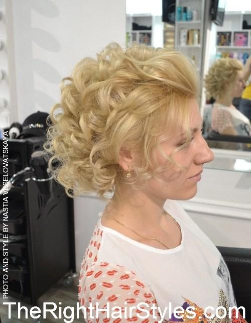 3 1 vintage blonde updo
