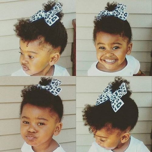 3 perfect high ponytail for black baby girls