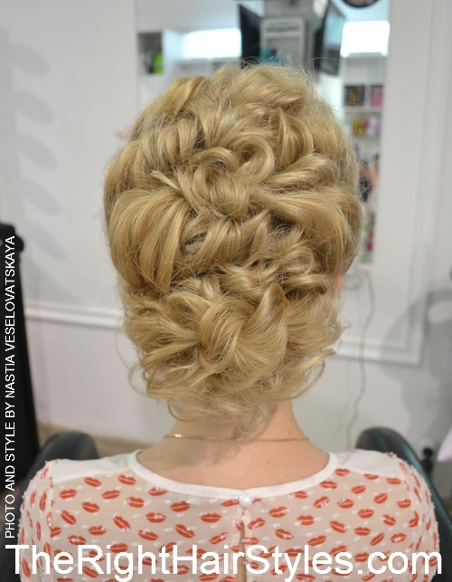 5 1 curly updo