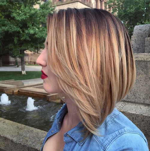 8 short and sweet ombre for bob