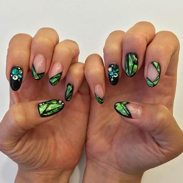 1 Black Green Design
