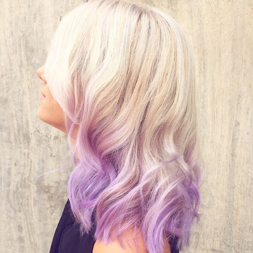 1 light lavender layers
