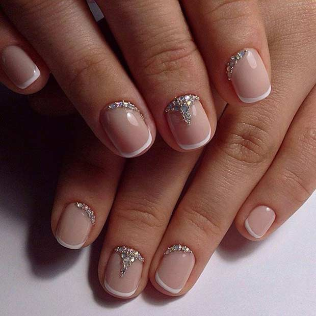 10 French Tip Manicure For Short Nails