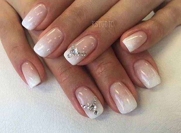 31 Elegant Wedding Nail Art Designs Page 11 Foliver Blog