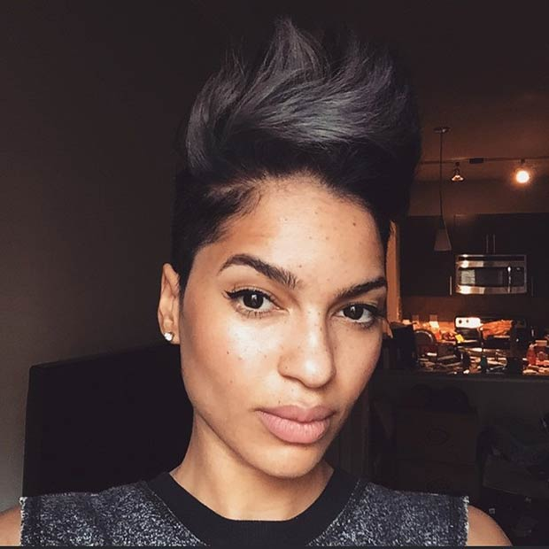 23 Faux Hawk Hairstyles For Women Page 12 Foliver Blog