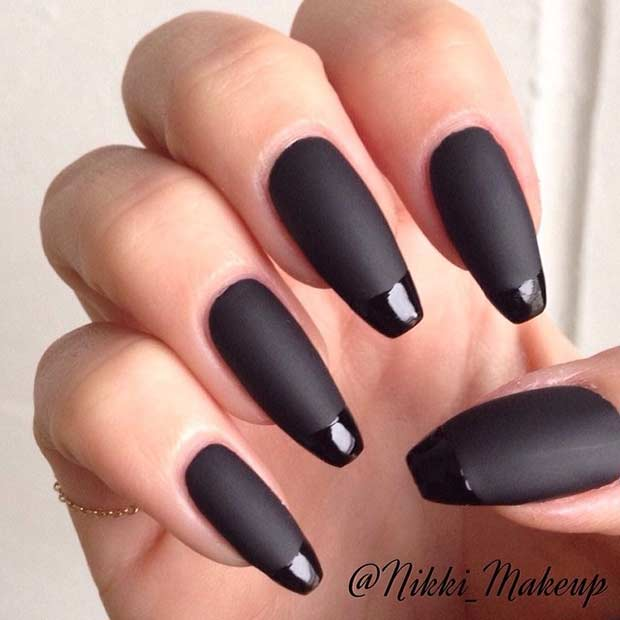 31 Cool French Tip Nail Designs – Page 13 – Foliver blog